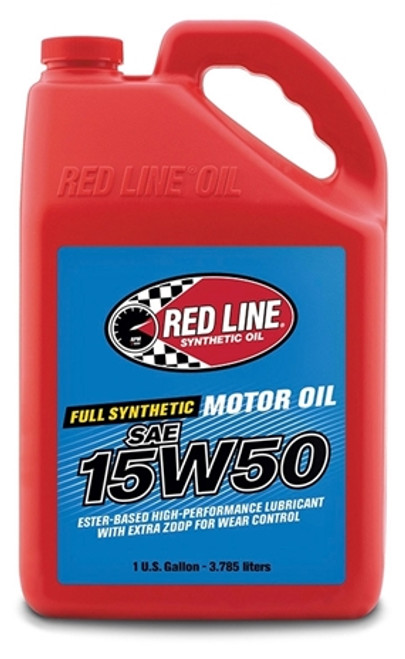 RED LINE 15W50 MOTOR OIL Fast and Furious? Your turbo motor will like our cheesy reference.