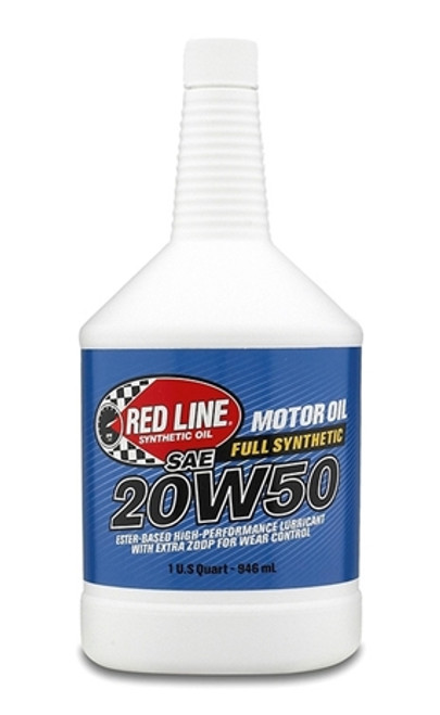 Red Line Synthetic 20W50 Motor Oil