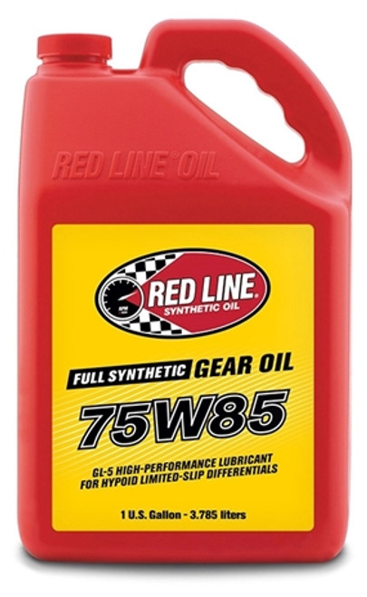 Red Line Synthetic 75W85 GL-5 GEAR OIL 4/1 gallon