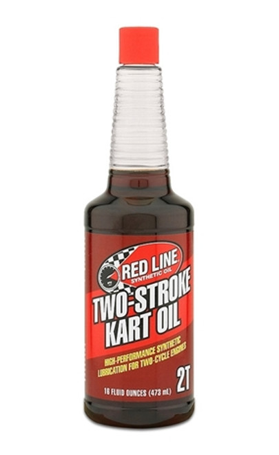 Red Line Synthetic Two-Stroke Kart Oil 12/16oz