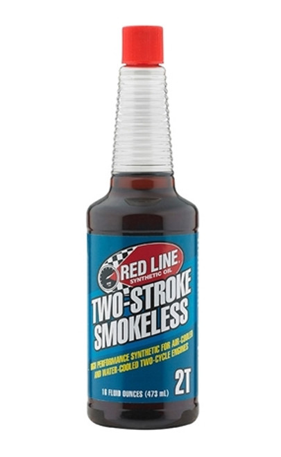 TWO-STROKE SMOKELESS OIL Scooters need Red Line, too.