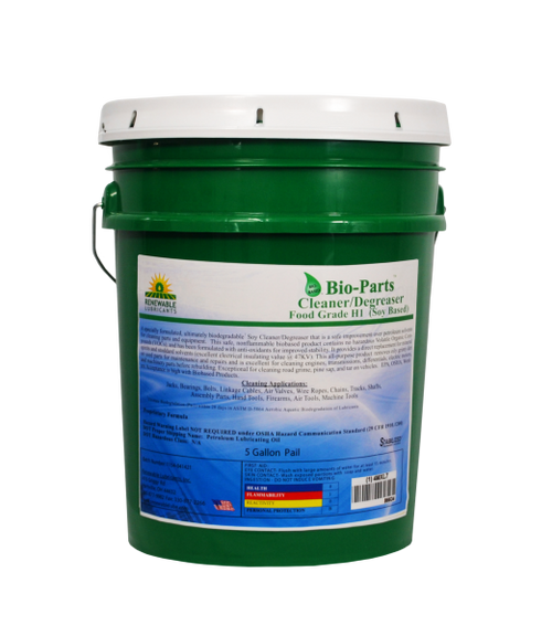 Bio-Parts Cleaner/Degreaser FG(Soy Based) 5gal Pail