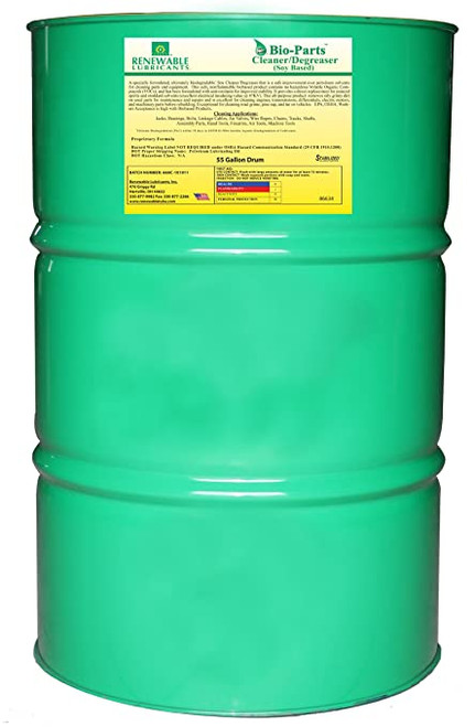 Bio-Parts Cleaner/Degreaser FG(Soy Based) 55 gal Drum