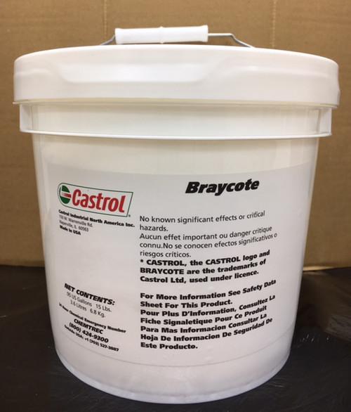 Castrol Braycote 600 EF, 15LB pail