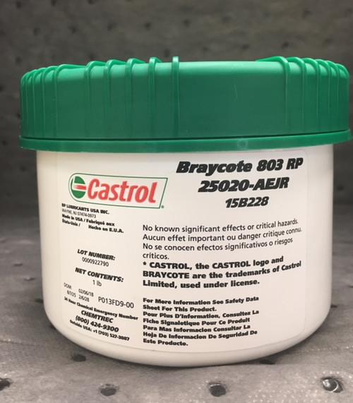 Castrol Braycote 803 RP | 1 LB Jar (25020AEJR 15B228)