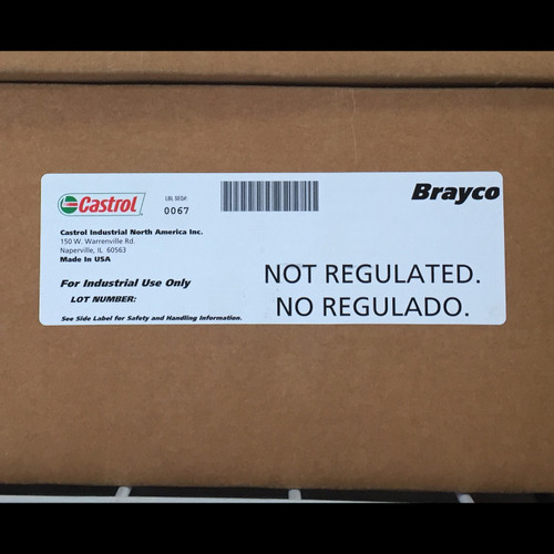 Castrol Brayco 363, 12/1 Quart Case