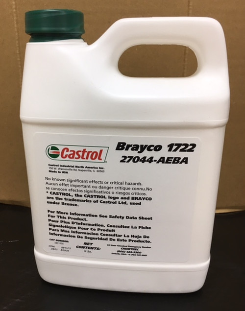 Castrol Brayco 1722 - 4 LB Bottle