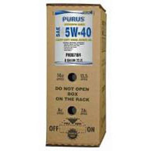 PURUS synthetic 5w40 CK-4 diesel engine oil ePAK