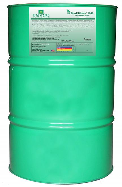 Bio-Ultimax 1000 Hydraulic Fluid, ISO 68, 55 gal drum