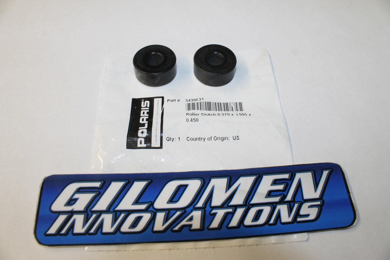 Replacement Rollers for Standard Rapid Reaction Secondary Clutch Set of Two