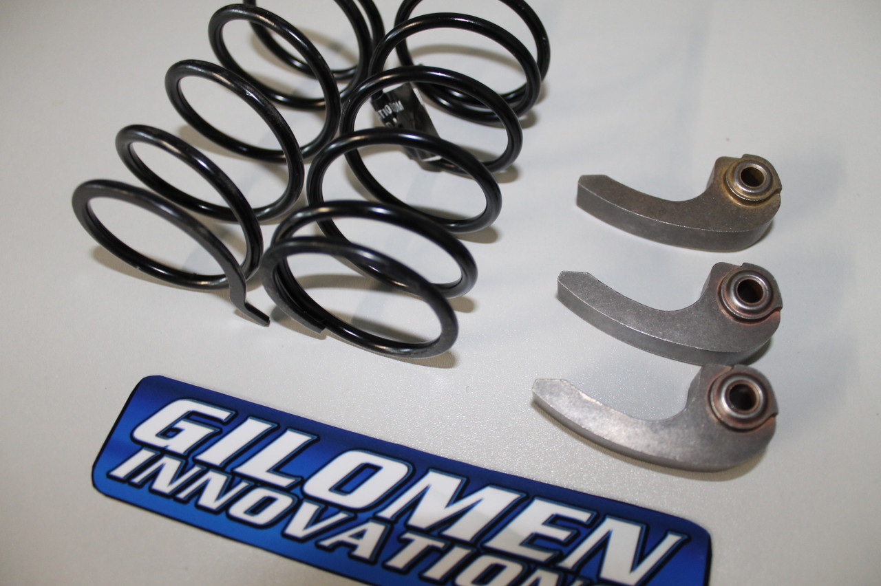 Elite shift BOSS clutch kit.  BOSS  Gilomen Innovations shown with secondary spring