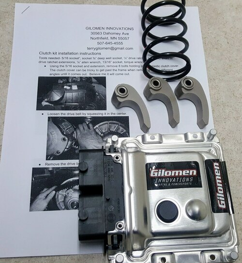 Ranger 1000 Ultimate ECU tune and clutch kit