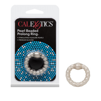 Pearl Beaded Prolong Ring with package