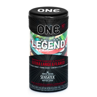 one legend 12pk container