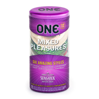 ONE Mixed Pleasures 12 PK container