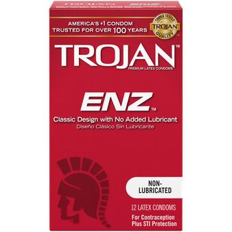 Trojan-ENZ Non Lubricated 12 PK box