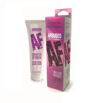 Aroused AF- Stimulation Enhancer with box