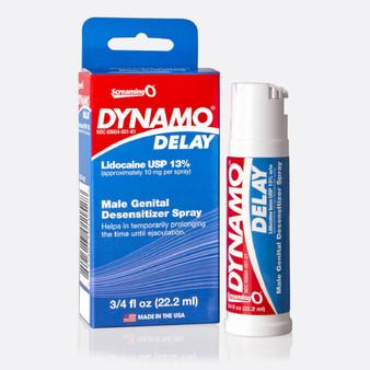 Dynamo Delay Spray 3/4 FL OZ with box