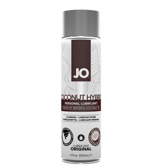 JO Coconut Hybrid Lubricant 4 OZ Bottle