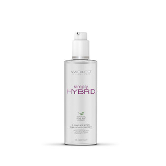 Simply Hybrid Lubricant 4 OZ bottle