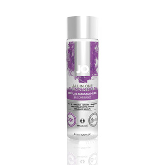 JO 4 in 1 Lavender Massage Oil 4 OZ