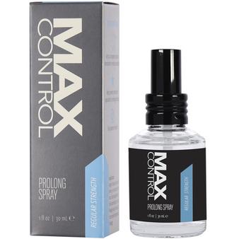 Max Control Prolong Spray Regular Strength 1 OZ with box