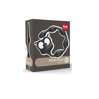 Flexi Felix Anal Beads (Black) in box