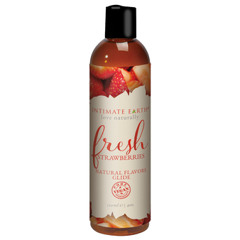 Fresh Strawberry Flavored Lubricant 4 OZ