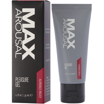 Max Arousal Pleasure Gel Extra Strength 1.2 OZ with box