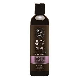 Massage And Body Oil Lavender 8 OZ