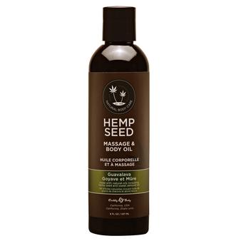 Massage And Body Oil Guavalava 8 OZ