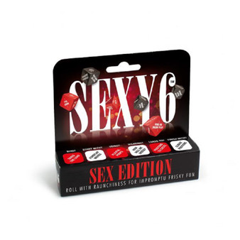 Sexy 6 Dice – Sex Edition in box