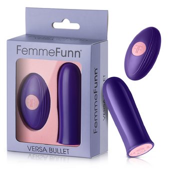 Versa Bullet with Remote (Purple) with box