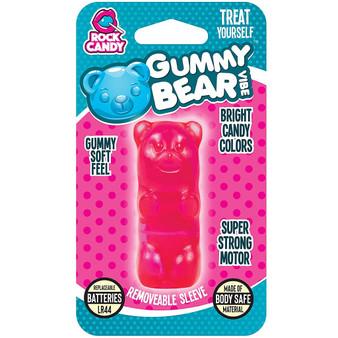 Gummy Bear Bullet (Pink) in package