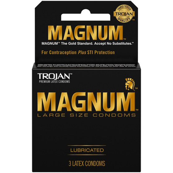 Magnum Lubricated 3 PK box