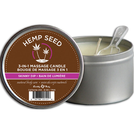3 In 1 Massage Candle Skinny Dip 6 OZ