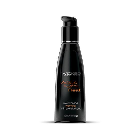 Aqua Heat Warming Lubricant 4 OZ bottle