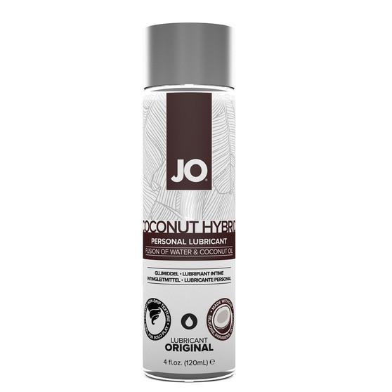 JO Coconut Hybrid Lubricant 4 OZ Bottle