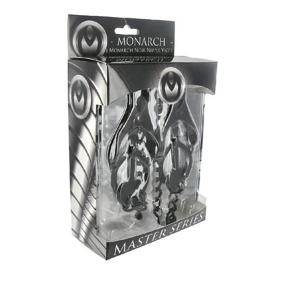 Monarch Noir Nipple Vice in box