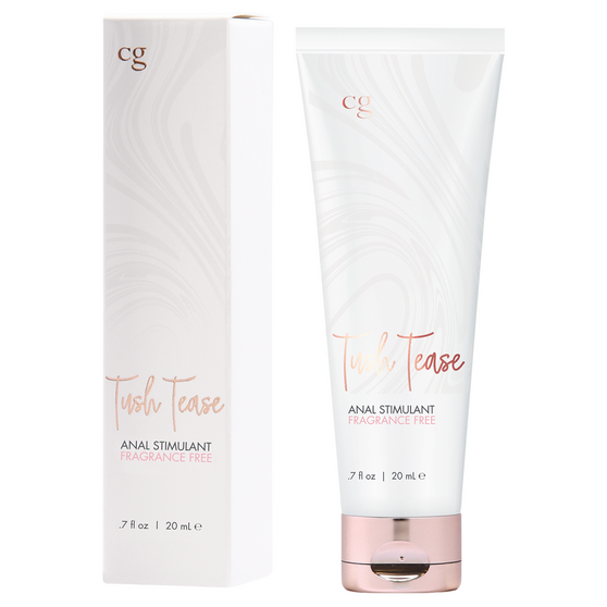 Tush Tease Anal Stimulant Fragrance Free 0.7 OZ with box