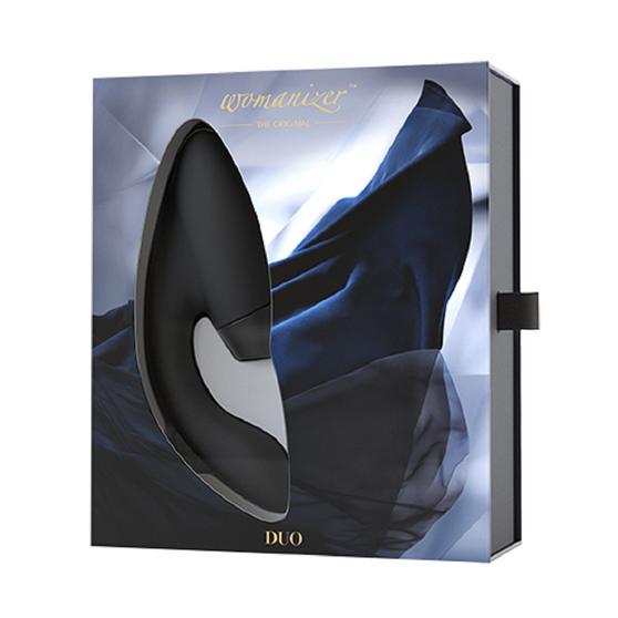 Duo Clitoral And G-Spot Stimulator (Black) in box