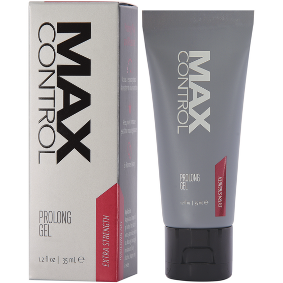 Max Control Prolong Gel Extra Strength 1.2 OZ with box