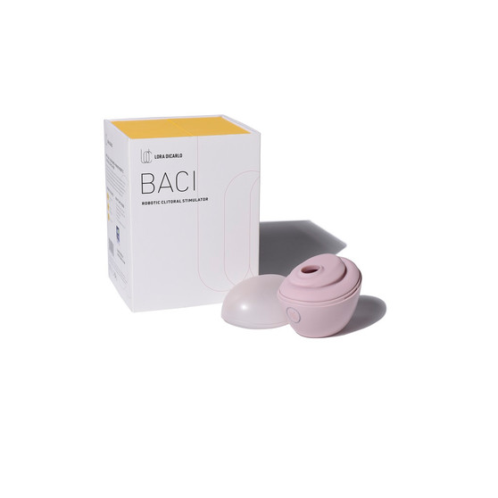 Baci Premium Robotic Clitoral Massager with box