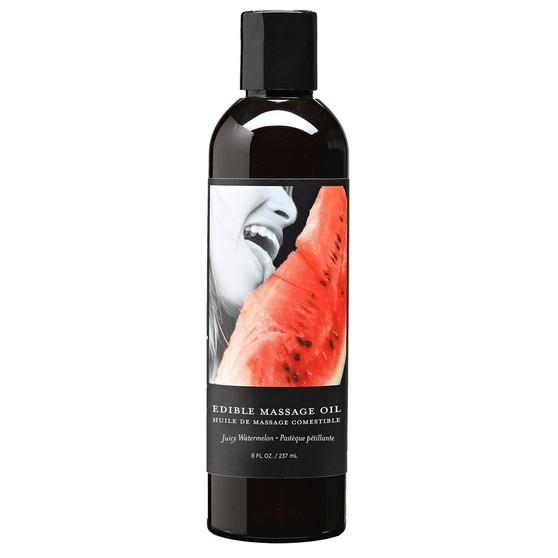 Edible Massage Oil Watermelon 8 OZ