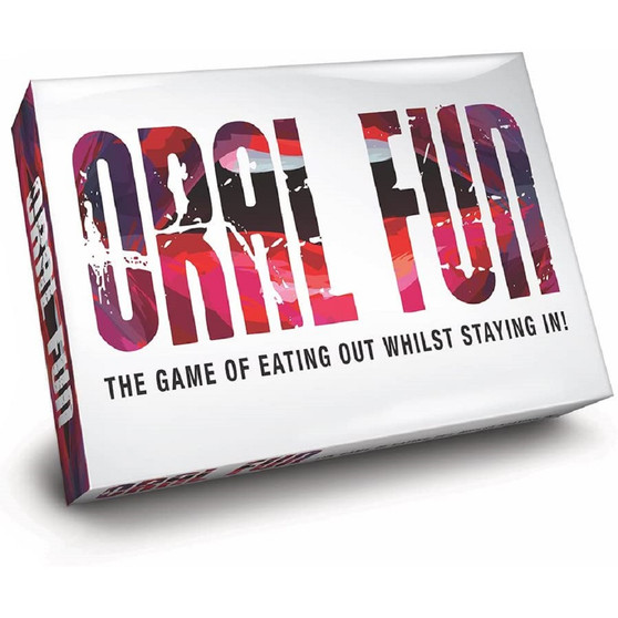 Oral Fun – The Game of Eating Out Whilst Staying In! box