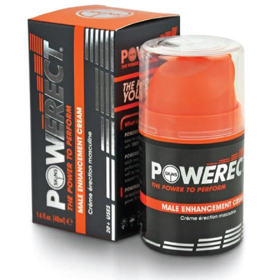 Powerect 1.6 OZ Enhancing Cream with box