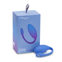 Jive Silicone Couples Vibrator (Blue) with box