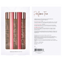 Perfume Oil With Pheromones Trio Gift Set front and back