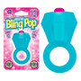 Bling Pop Cock Ring (Blue) with package