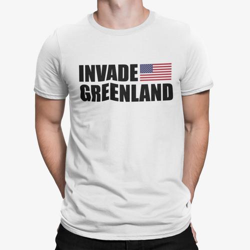 invade greenland tee